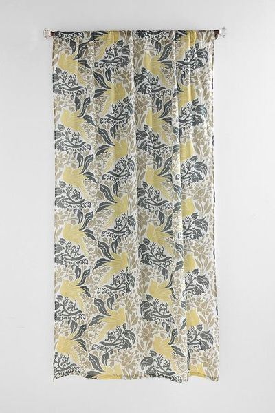 Bird Flourish Curtain (Urban Outfitters) / For the home - Juxtapost