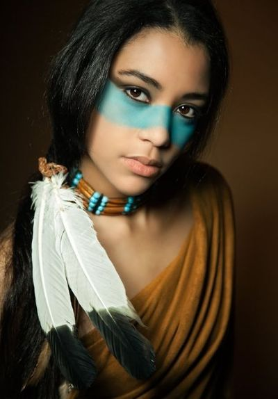 Native American Makeup Halloween Time Juxtapost