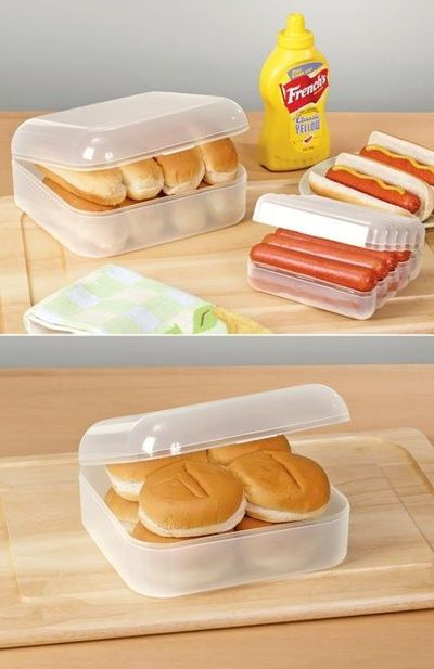 Hot Dog Bun Keeper