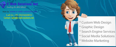 E-Web-Solutions.Net. is a leading website designing company in Delhi, India. We offer affordable Website Design and Development services, Cheap SEO Services, Ecommerce Solutions - Ecommerce Website Design & Development and many more. Our Clients apper...