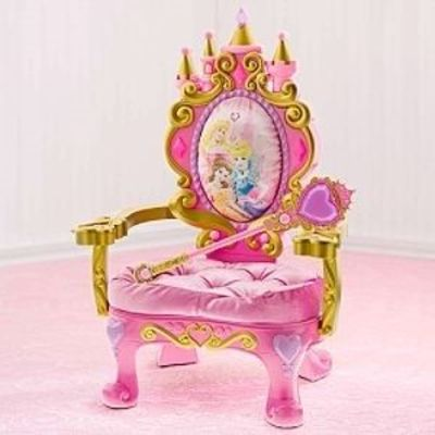 Magical Talking Disney Princess Throne Kids Decorating