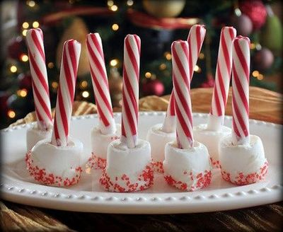 Stupendous Peppermint Sticks And Marshmallow Stirrers For Hot Chocolate Home Interior And Landscaping Eliaenasavecom