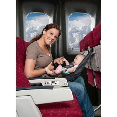 59c02e3d7 Flyebaby Fly Baby Airplane Seat Child Comfort System - As Seen in Catalogs  Grey Design by