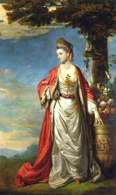 Mrs Trecothick in Turkish Dress, by Joshua Reynolds, 1770