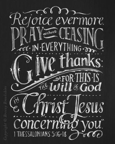 Thanksgiving Chalkboard Sayings Rejoice Evermore