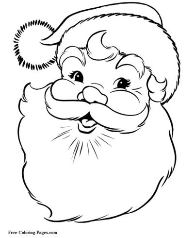 christmas coloring pages santa claus rudolph and more free downloads on site