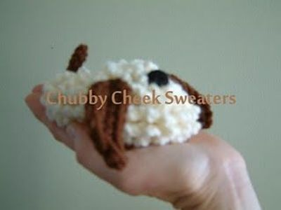 Floppy Dog Baby Booties Free Crochet Pattern / knits and ...