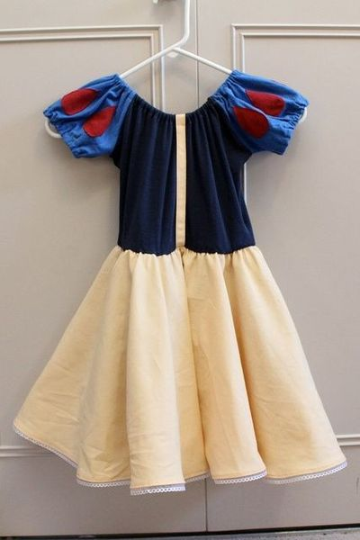 Snow White Costume Kids Diy Diy Snow White Costume Diy