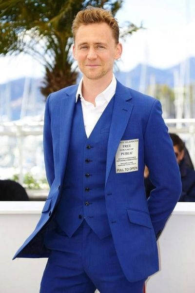 Tom Hiddleston. In a TARDIS suit. My brain just imploded.