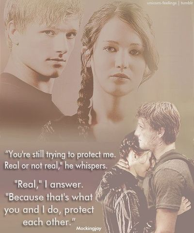 ''That's what you and I do, protect each other.''
