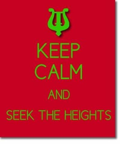 Alpha Chi Omega Sorority Sisterhood Quotes - Seek the Height ...
