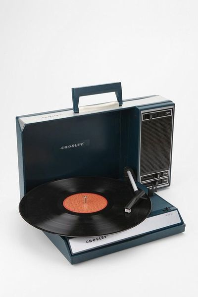 Take your record player with you!