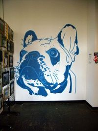 Frenchie mural