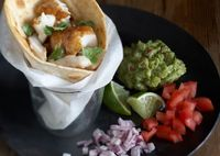 Warm Fish Tacos by Chef G. Garvin | chefgarvin.com