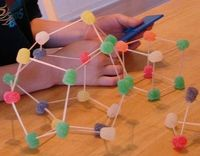 Building Learning Activity with Gumdrops and Toothpicks