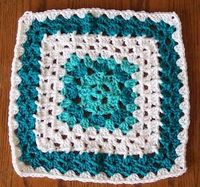 SmoothFox Crochet and Knit: SmoothFoxs Cute as a Button 12 x 12 Square - Free Pattern