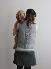 Nordic-Trail 6 knitted vest pattern