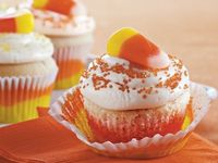 Candy Corn Baby Cakes