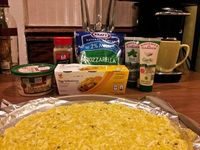 pizza crust experiment: spaghetti squash #weightwatchers #pizza