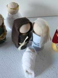 Peg Doll Nativity Patterns