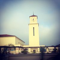 Clock tower at Student Services West -- #SDSU