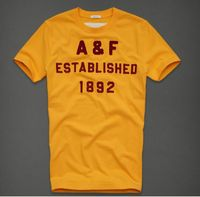 Abercrombie And Fitch Mensen Tees Geel Outlet Nederland