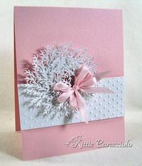 Winter Pink and White