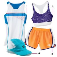 The lightweight work out gear that keeps you cool in the heat: http://www.womenshealthmag.com/fitness/summer-workout
