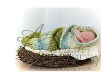 Ravelry: aprilhi's Baby Cocoon...too cute