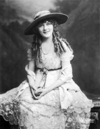 Actress Mary Pickford, date unknown