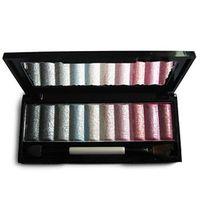 10 Colors Soft Shimmer Makeup Eye Shadow Palette with Free Brush