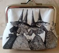 Witchy change purse