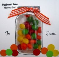 Sealed With a Kiss - Valentine Candy Jar Shows how to use the pillow pockets with the jars.