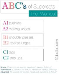 Supersets Toning Workout