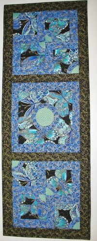 Shimmer Wall Art Quilted or Table Topper in by PicketFenceFabric, $39.95