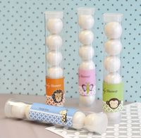 Baby Animal Personalized Candy Tube Favors