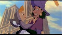 Clopin and little girl