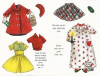 Hallmark Card Paper Doll Susan Kay Clothes 2