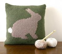 Bunny cushion small2