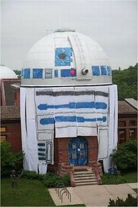 College Prank Turns Observatory Into a Giant R2-D2