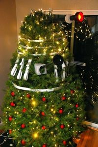 Dalek Christmas Tree. DEC-OR-ATE!