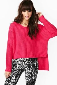 Cambridge Knit in Hot Pink