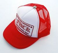 Red Trucker Mesh Chrome Hearts Fuck Cap Fashion