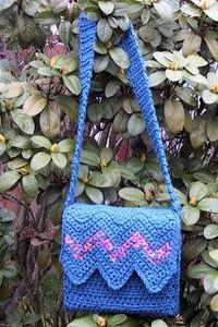Suzies Stuff: MARCH CHEVRON II BAG (c)
