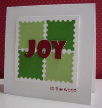 bright and cheerful Christmas card