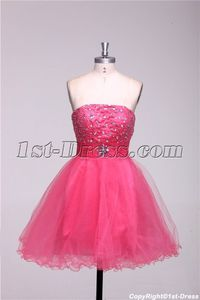 Strapless Lovely Cocktail Party Dresses