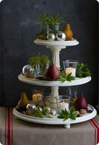Beautiful Matthew Mead Tiered Stand