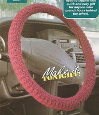Crochet Pattern for a Steering Wheel Cover