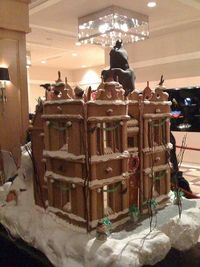 "Gingerbread Bruce Wayne Manor - ""Batman"""
