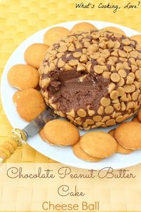 Chocolate Peanut Butter Cake Ball